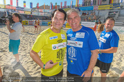Promi Beachvolleyball - Strandbad Baden - Mi 14.06.2017 - Gregor GLANZ, Walter SCHACHNER87
