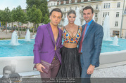Miss Austria Wahl 2017 - Casino Baden - Do 06.07.2017 - Julian FM ST�CKEL, Micaela SCH�FER mit Freund Felix STEINER100