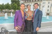 Miss Austria Wahl 2017 - Casino Baden - Do 06.07.2017 - Julian FM ST�CKEL, Micaela SCH�FER mit Freund Felix STEINER101