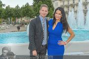 Miss Austria Wahl 2017 - Casino Baden - Do 06.07.2017 - Mariella AHRENS, Clemens TRISCHLER115