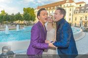 Miss Austria Wahl 2017 - Casino Baden - Do 06.07.2017 - Alfons HAIDER, Silvia SCHNEIDER, Julian FM ST�CKEL160