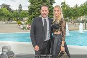 Miss Austria Wahl 2017 - Casino Baden - Do 06.07.2017 - HC Heinz Christian STRACHE mit Ehefrau Philippa BECK171