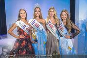 Miss Austria Wahl 2017 - Casino Baden - Do 06.07.2017 - Celine SCHRENK, Sarah CHVALA, Bianca KRONSTEINER, D STANKOVIC463