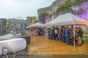 Rigoletto Premiere - Steinbruch St. Margarethen - Mi 12.07.2017 - Regenwetter, Gewiitter geht nieder69