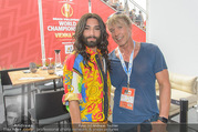 Beachvolleyball - Donauinsel - Sa 05.08.2017 - Conchita WURST, Dominic HEINZL3