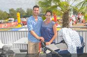 Beachvolleyball - Donauinsel - Sa 05.08.2017 - Kati BELLOWITSCH-GEYER mit Ehemann Daniel und Sohn Vincent4