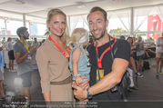 Beachvolleyball - Donauinsel - Sa 05.08.2017 - Manuel und Kerstin ORTLECHNER mit Sohn Julian6