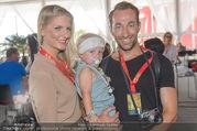 Beachvolleyball - Donauinsel - Sa 05.08.2017 - Manuel und Kerstin ORTLECHNER mit Sohn Julian7