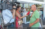 Beachvolleyball - Donauinsel - Sa 05.08.2017 - Marion NACHTWEY interviewt Otto RETZER23