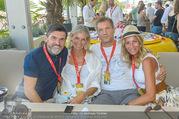 Beachvolleyball - Donauinsel - Sa 05.08.2017 - Hubert Hupo NEUPER mit Ehefrau Claudia Hubert Hupo und Claudia N29