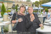 Belvedere Urban Garden - Kursalon - Di 22.08.2017 - Dieter CHMELAR mit Ehefrau85