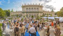 Belvedere Urban Garden - Kursalon - Di 22.08.2017 - Panoramafoto100