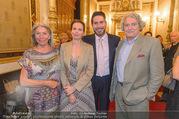 Clemens Unterreiner Konsul - Staatsoper - Do 07.09.2017 - Familie Clemens UNTERREINER mit Mutter Heidi, Vater Viktor und S20