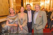 Clemens Unterreiner Konsul - Staatsoper - Do 07.09.2017 - Familie Clemens UNTERREINER mit Mutter Heidi, Vater Viktor und S21