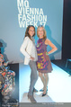 Anelia Peschev Show - Fashion Week Zelt - Di 12.09.2017 - Vera RUSSWURM, Petra WRABETZ28
