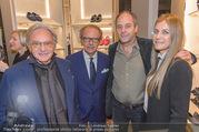 Opening - TOD´s - Do 14.09.2017 - Gerhard BERGER mit Helene, Andrea und Diego DELLA VALLE129