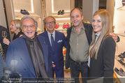 Opening - TOD´s - Do 14.09.2017 - Gerhard BERGER mit Helene, Andrea und Diego DELLA VALLE130