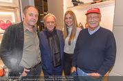 Opening - TOD´s - Do 14.09.2017 - Gerhard BERGER mit Helene, Niki LAUDA, Diego DELLA VALLE163