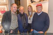 Opening - TOD´s - Do 14.09.2017 - Gerhard BERGER mit Helene, Niki LAUDA, Diego DELLA VALLE164