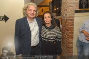 Adele Neuhauser Buchpräsentation - Club Schwarzberg - Di 19.09.2017 - Wolfgang MURNBERGER mit Begleitung26