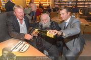 Opening - El Gaucho Rochusmarkt - Mi 20.09.2017 - Michael und Franz GROSSAUER, Hermann NITSCH47