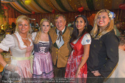 Lugner auf der Wiesn - Wiener Wiesn - Do 21.09.2017 - Nicole CHANELL, Richard LUGNER, Nina Bambi BRUCKNER, Dany, Sonja4