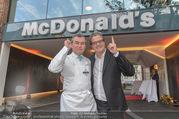 Eröffnung - McDonalds - Mo 25.09.2017 - Toni M�RWALD, Andreas SCHWERLA2