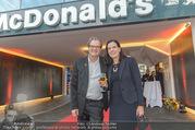 Eröffnung - McDonalds - Mo 25.09.2017 - Andreas SCHWERLA, Christiane WENCKHEIM10