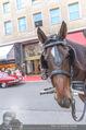 Restaurant Opening - Meissl & Schadn Grand Ferdinand - Mi 27.09.2017 - Fiaker, Pferd vor dem Grand Ferdinand4