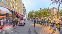 Restaurant Opening - Meissl & Schadn Grand Ferdinand - Mi 27.09.2017 - G�ste vor dem Hotel30