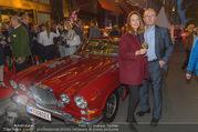 Restaurant Opening - Meissl & Schadn Grand Ferdinand - Mi 27.09.2017 - Petra und Hans SCHMID (vor seinem ehemaligen Auto)40
