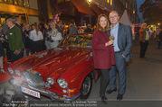 Restaurant Opening - Meissl & Schadn Grand Ferdinand - Mi 27.09.2017 - Petra und Hans SCHMID (vor seinem ehemaligen Auto)41