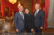 Raffael Ausstellungseröffnung - Albertina - Do 28.09.2017 - Thomas DROZDA mit Ehefrau Isabella, Klaus Albrecht SCHR�DER17