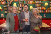 Julius Meinl Poesie Brunch - Cafe Museum - Fr 29.09.2017 - Familie Clemens UNTERREINER mit Mutter Heidi, Vater Viktor21