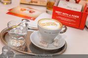 Julius Meinl Poesie Brunch - Cafe Museum - Fr 29.09.2017 - Kaffeetasse, Kaffee mit Spruch, Aufdruck, Bild56