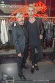 Store Opening - Philipp Plein Store - Fr 29.09.2017 - Florian WESS mit Vater Arnold, Manuela FISCHER15