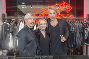 Store Opening - Philipp Plein Store - Fr 29.09.2017 - Florian WESS mit Vater Arnold16
