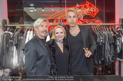 Store Opening - Philipp Plein Store - Fr 29.09.2017 - Florian WESS mit Vater Arnold17