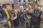 Store Opening - Philipp Plein Store - Fr 29.09.2017 - Philipp PLEIN, Toni Anton FABER (Pfarrer Seegnung), Ernst und Ma138