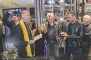 Store Opening - Philipp Plein Store - Fr 29.09.2017 - Philipp PLEIN, Toni Anton FABER (Pfarrer Seegnung), Ernst und Ma139