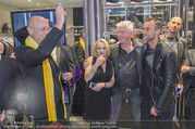 Store Opening - Philipp Plein Store - Fr 29.09.2017 - Philipp PLEIN, Toni Anton FABER (Pfarrer Seegnung), Ernst und Ma144