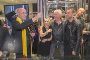 Store Opening - Philipp Plein Store - Fr 29.09.2017 - Philipp PLEIN, Toni Anton FABER (Pfarrer Seegnung), Ernst und Ma145