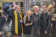 Store Opening - Philipp Plein Store - Fr 29.09.2017 - Philipp PLEIN, Toni Anton FABER (Pfarrer Seegnung), Ernst und Ma146