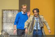 Bühnenfotos Der Gott des Gemetzels - Stadttheater Berndorf - Di 03.10.2017 - Stefano BERNARDIN, Alexander JAGSCH96
