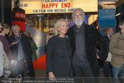 Happy End Kinopremiere - Gartenbaukino - Mi 04.10.2017 - Michael und Susi HANEKE11