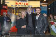 Happy End Kinopremiere - Gartenbaukino - Mi 04.10.2017 - Michael und Susi HANEKE, Franz ROGOWSKI12