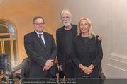 Premierenfeier und Empfang - Französische Botschaft - Mi 04.10.2017 - Fran�ois SAINT PAUL (Botschafter), Michael und Susi HANEKE8