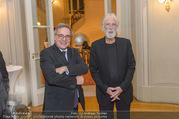Premierenfeier und Empfang - Französische Botschaft - Mi 04.10.2017 - Michael HANEKE, Fran�ois SAINT PAUL 16