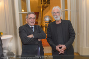 Premierenfeier und Empfang - Französische Botschaft - Mi 04.10.2017 - Michael HANEKE, Fran�ois SAINT PAUL 17