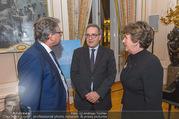 Premierenfeier und Empfang - Französische Botschaft - Mi 04.10.2017 - Fran�ois SAINT PAUL, Alexander WRABETZ, Helga RABL-STADLER28
